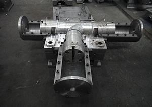 PVC排水三通模具